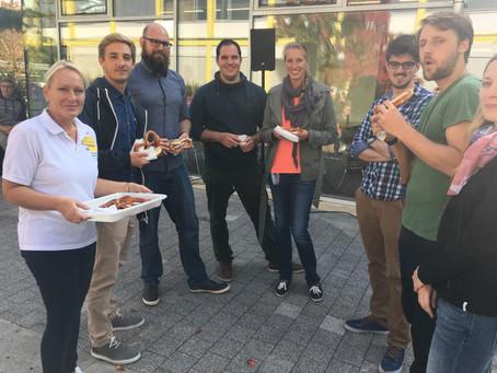 Feierliche Eröffnung des Coffee-Shops am Eichendorff-Gymnasium