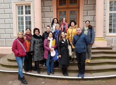 1. Projekttreffen Erasmus+ in Ettlingen