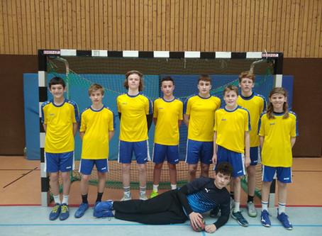 Erfolgreiche EG-Handballer bei Jugend trainiert für Olympia