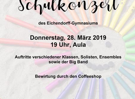 Einladung zum Schulkonzert
