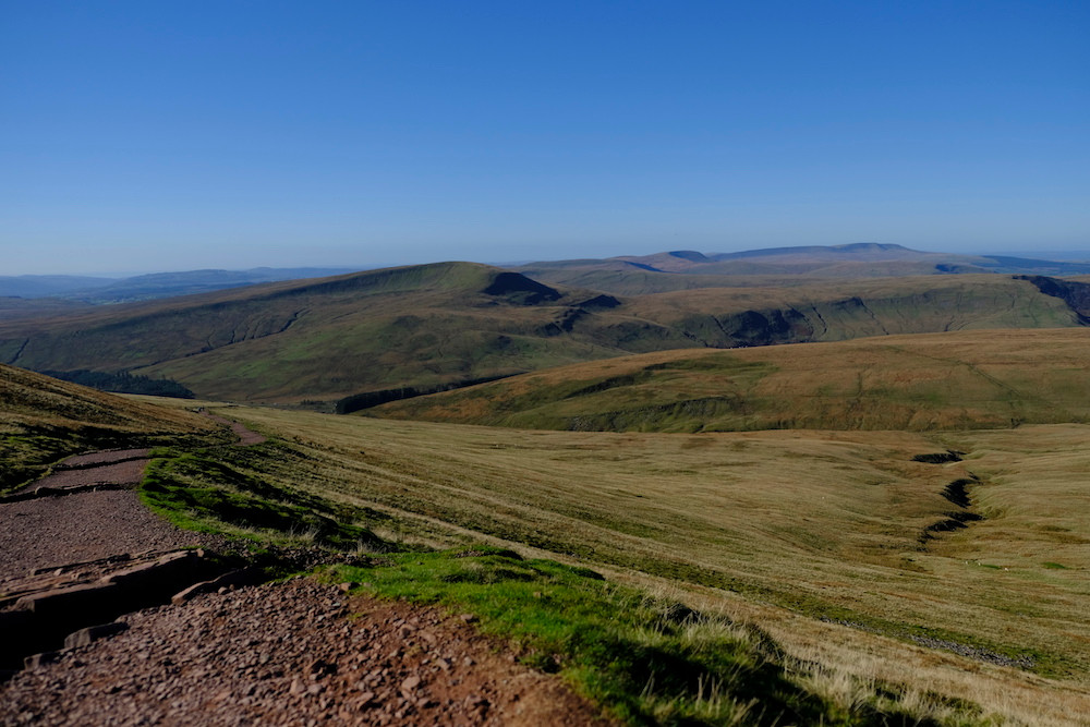 Brecon Beacon, Pen-Fan, Wales