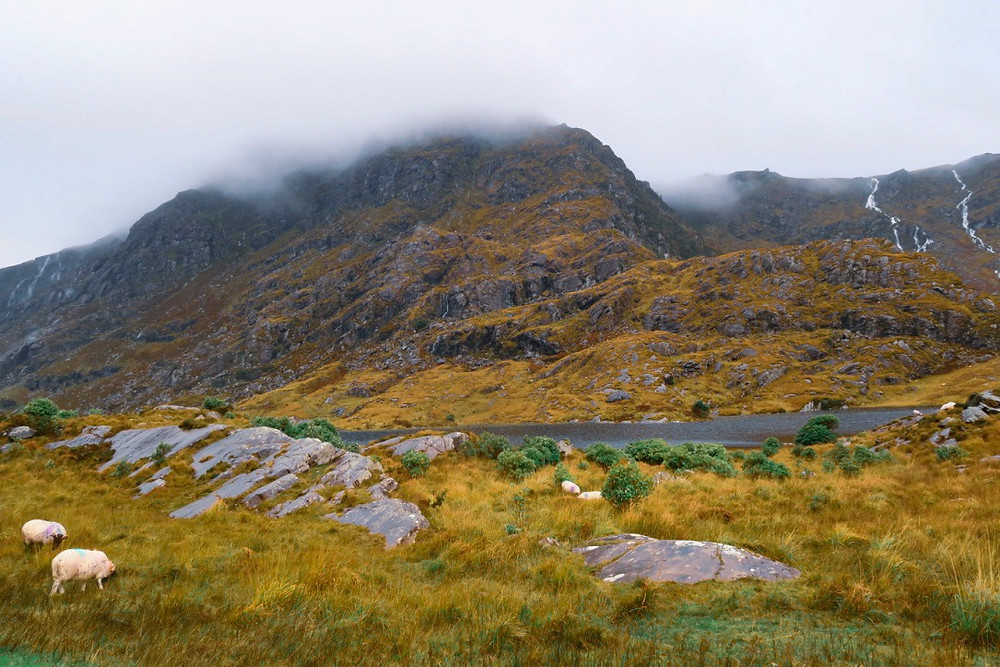 Gap of Dunloe, Killarney, County Kerry, Ierland, Roadtrip Ierland, Killarney National Park