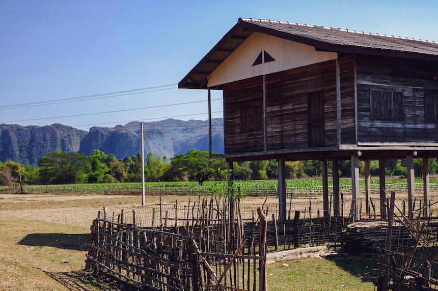 Thakhek loop in Laos
