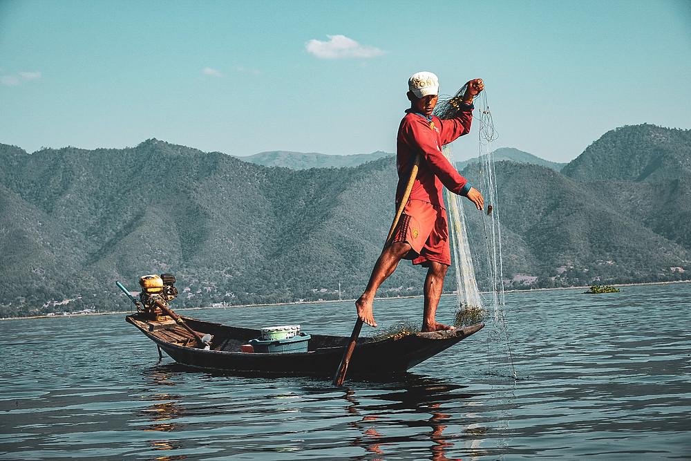 Reizen in Myanmar, Inle Lake