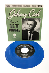 """Johnny Cash """"Live from the Big 'D' Jamboree"""" single"""