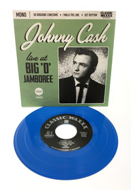 "Johnny Cash ""Live from the Big 'D' Jamboree"" single"