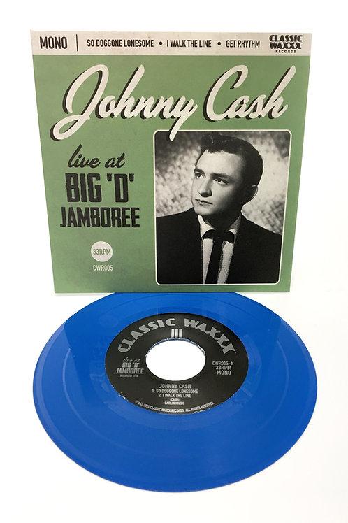 "Johnny Cash ""Live at Big 'D' Jamboree"" 7inch EP"