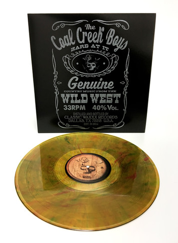 "The Coal Creek Boys ""Hard At It In old Town"" LP"