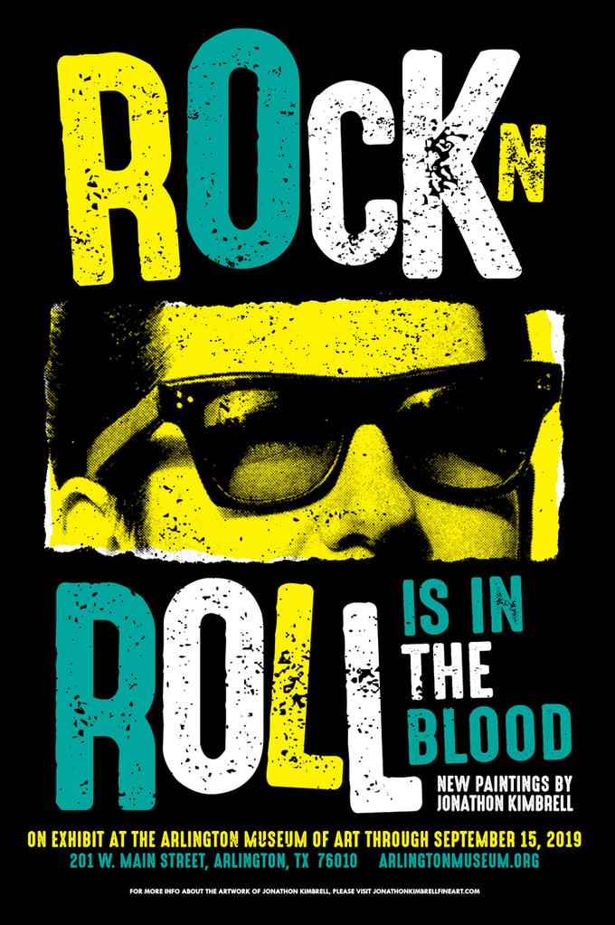 Rock N Roll Is In The Blood (Solo Exhibit)