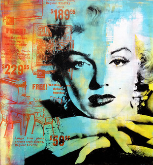 Silver Screen Marilyn