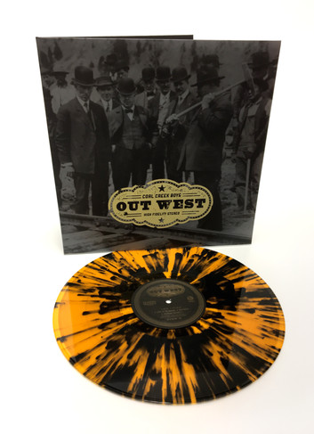 "The Coal Creek Boys ""Out West"" LP"