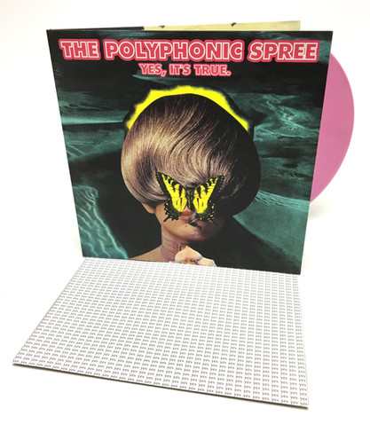 "The Polyphonic Spree ""Yes, It's True"" Test Press LP"