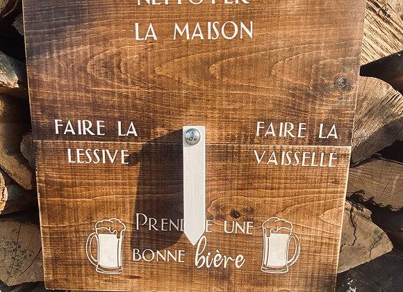 Horloge bière