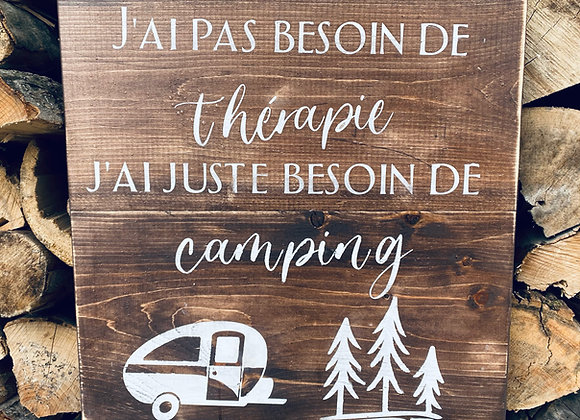 Camping thérapie