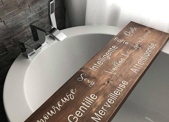 Pont de bain amoureuse