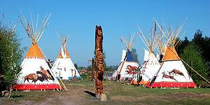 Wioska indiańska Hau Kola