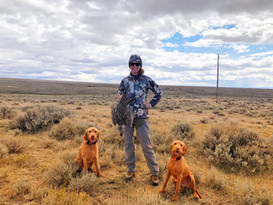 What a great hunting experience it was outside Casper, WY with Rheese's brother's family.