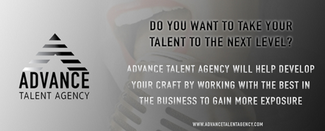 Advance Talent Agency Web Banner