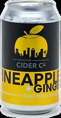 Houston Cider Company Pineapple Ginger.p