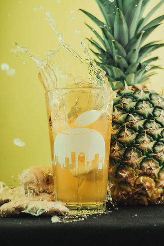 Houston Cider Pineapple Ginger Splash_co