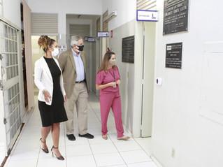 Equipe técnica do Ministério da Saúde visita serviços de saúde em Uberlândia (MG)