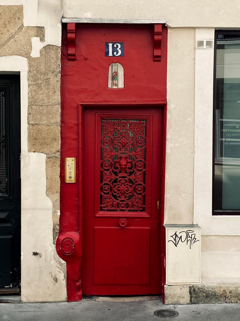 Rue Charles V, la rue où se trouve l'entrée du Centre de Recherches Interdisciplinaires (le CRI)