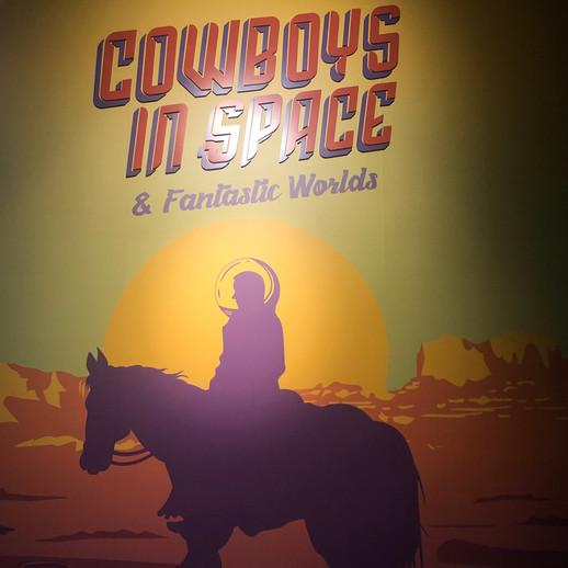 Cowboys in space exhibition