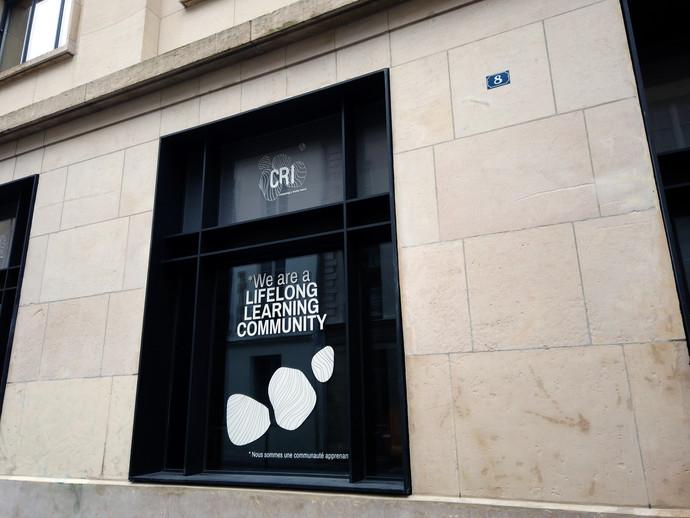 Les fenêtres du CRI, sans les lumières