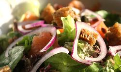 Salade gerookte zalm klein/groot