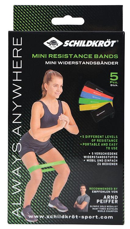 Schildkröt-Fitness Resistance Bands, 5er Set