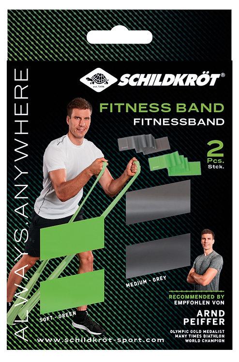 Schildkröt-Fitness Fitnessbänder 2er Set, Latexfrei