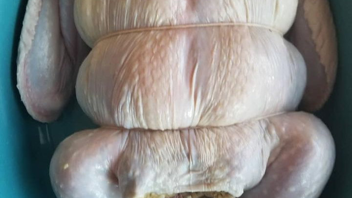 Trussed & Deboned Corn Bread Dressed Turkeys