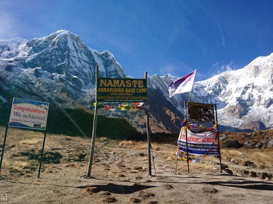 Trekking ke Annapurna Base Camp