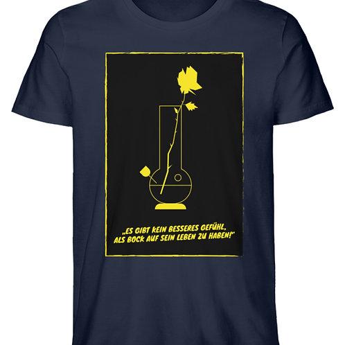 T Shirt Bong-Rose /Herren  - Herren Premium Organic Shirt