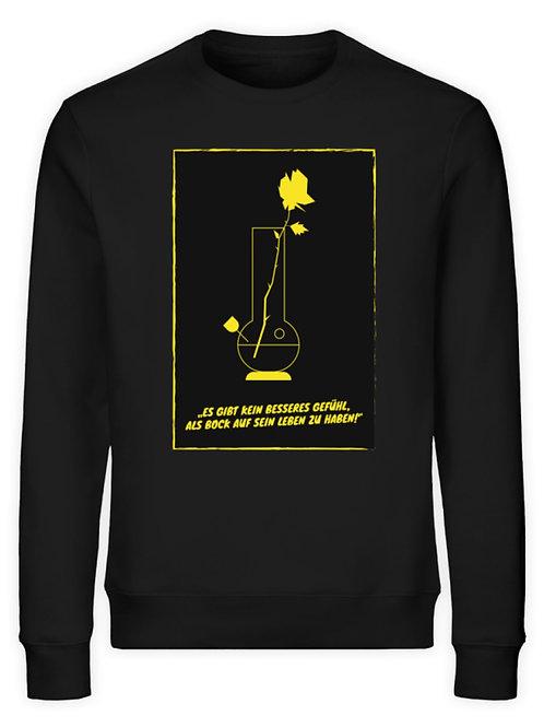 Sweater Bong-Rose/ Unisex  - Unisex Organic Sweatshirt