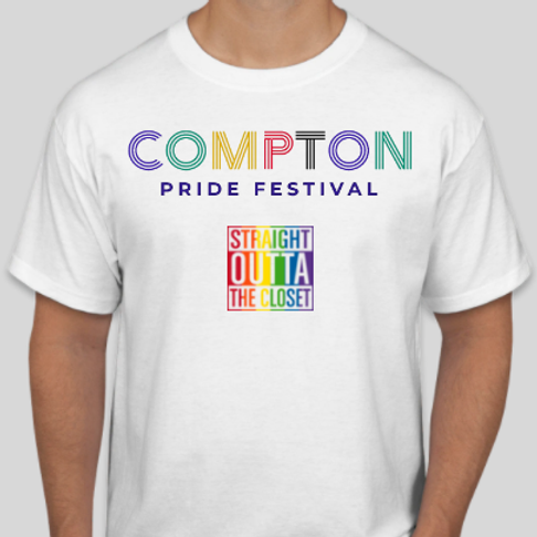 2021 Official Compton Pride T-Shirt