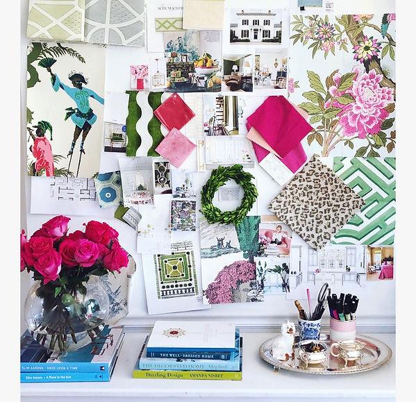 Grace Frederick Design Interior Design Moodboard Charleston, SC