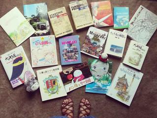 Mis libros de Studio Ghibli
