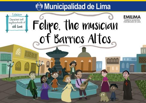 Felipe, the musician of Barrios Altos