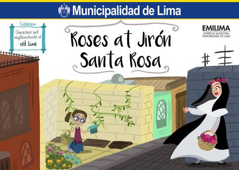 Roses at Jirón Santa Rosa