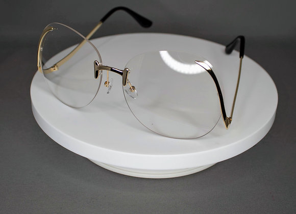 Clear Round Eye Glasses