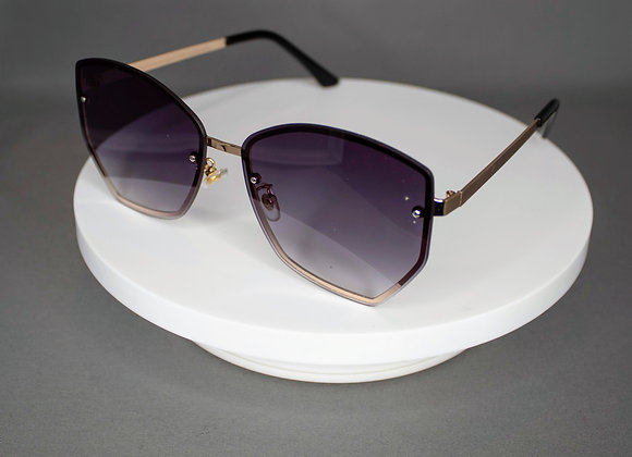 Purple Round Eye Glasses