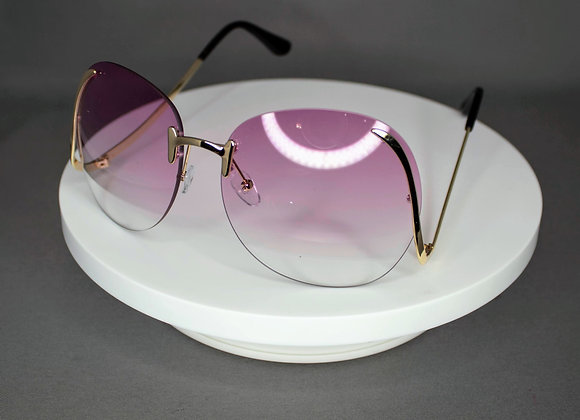 Pink Round Eye Glasses