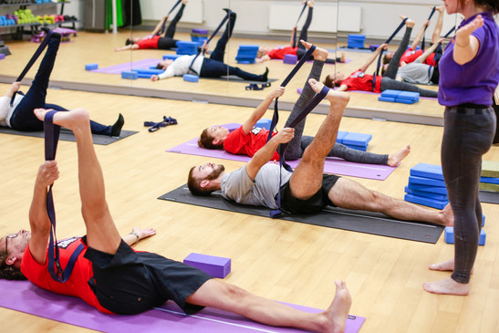 """Yoga – """"Stay calm, get active""""!"""