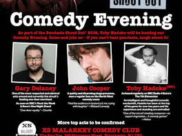 Comedy gig kicks off a psoriasis awareness week that's no laughing matter