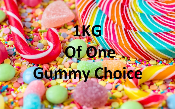 1KG of One Gummy Sweet Choice