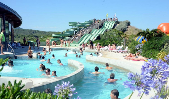 Gruissan aquatic park