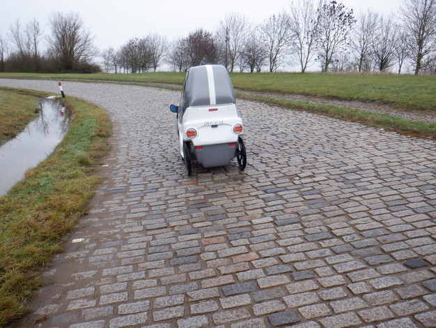 Belgian Pave Testing at Millbrook