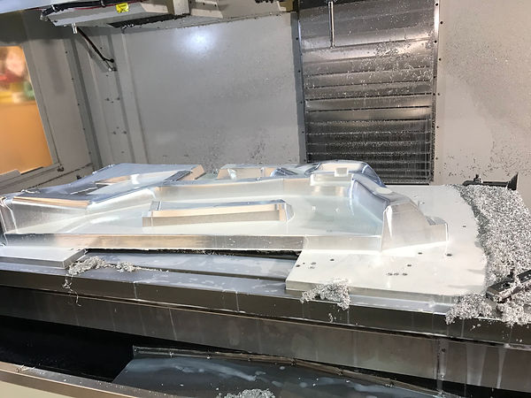 Interior Side Forming Tool being Machine