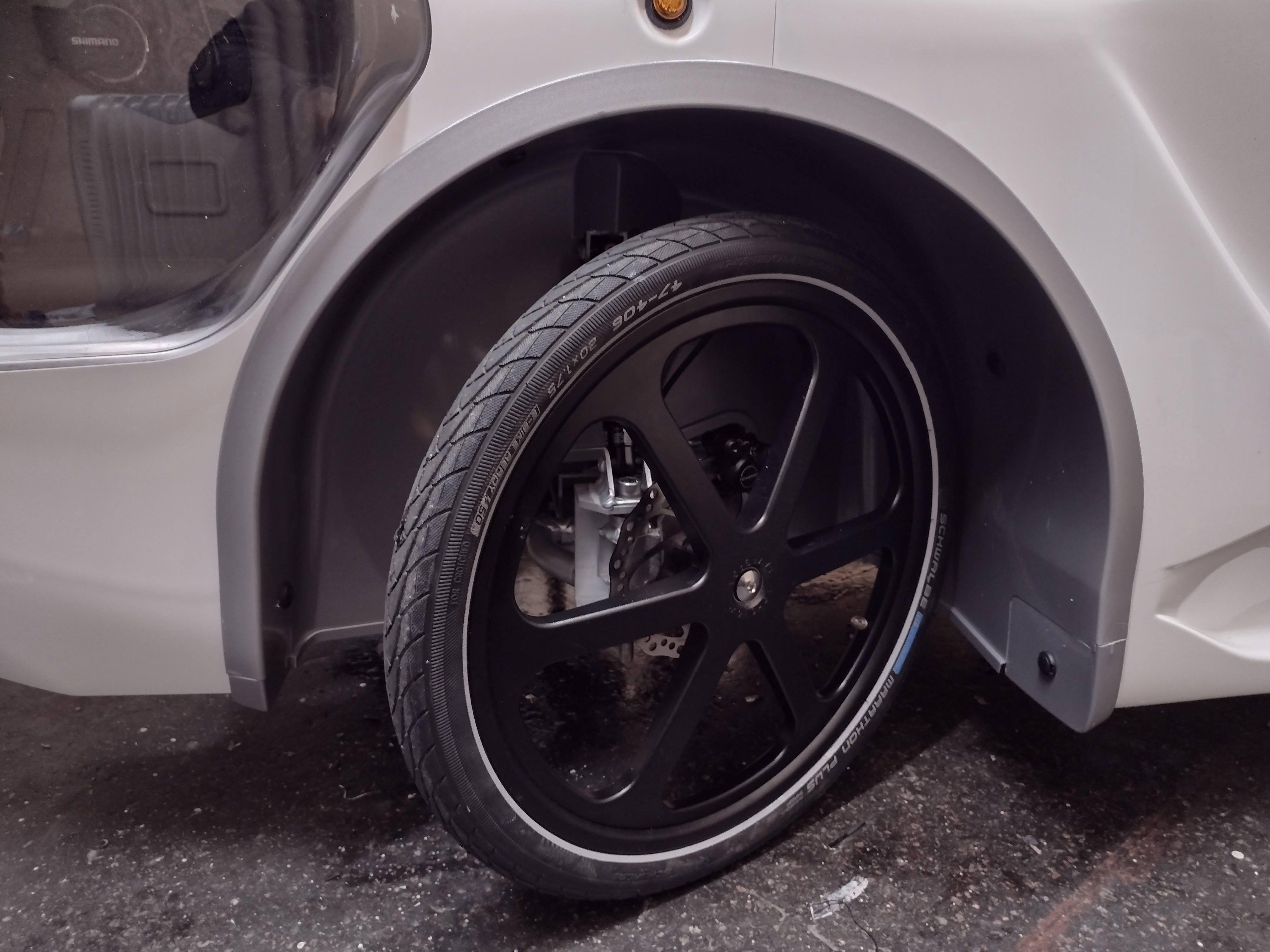 Removable Front Wheel Liner